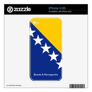 BOSNIA - HERZEGOVINA SKINS FOR THE iPhone 4