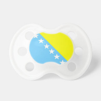 Bosnia & Herzenovina Flag BooginHead Pacifier