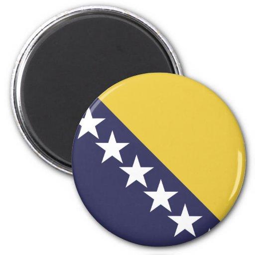 Bosnia Herzgovina Imán Redondo 5 Cm