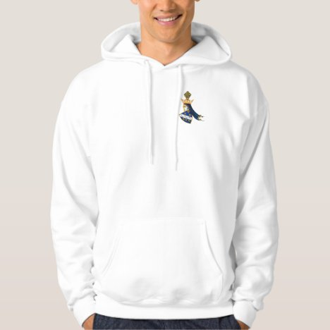 BOSNIA: Men's Fleece Zip Jogger (Made in USA) Hoodie
