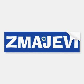 """Bosnia National Football Team """"Zmajevi"""" Car Bumper Sticker"""