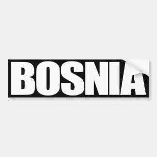 Bosnia Pegatina Para Auto