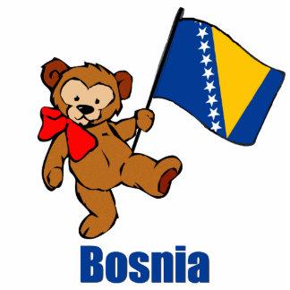 Bosnia Teddy Bear Acrylic Cut Outs