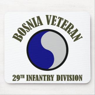 Bosnia Veteran - 29th ID Mouse Pad