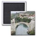 Bosnia y Hercegovina - Mostar. El puente viejo Imanes Para Frigoríficos
