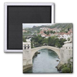Bosnia y Hercegovina - Mostar. El puente viejo Imán Cuadrado