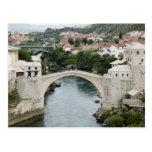 Bosnia y Hercegovina - Mostar. El puente viejo Postal