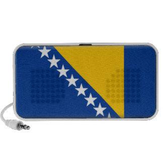 Bosnia y Herzegovina señala altavoces por medio de