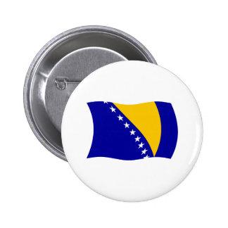 Bosnia y Herzegovina señala el botón por medio de Pin Redondo De 2 Pulgadas
