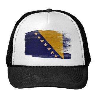 Bosnia y Herzegovina señala el gorra del camionero