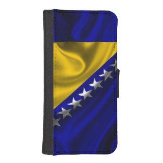 Bosnia y Herzegovina señala la tela por medio de Fundas Billetera De iPhone 5