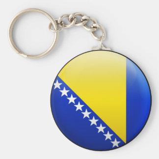Bosnia y Herzegovina señala por medio de una bande Llaveros