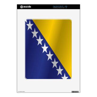Bosnia y Herzegovina señala por medio de una Skin Para El iPad