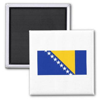 Bosnia y Herzegovina señala VAGOS por medio de una Imán Cuadrado