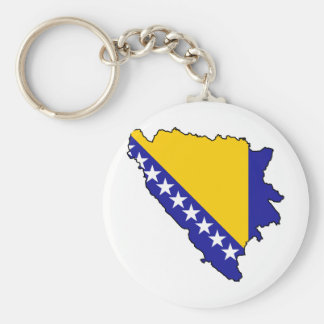 Bosnia y Herzegovina traza VAGOS Llavero