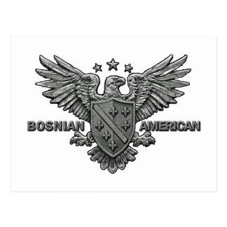 Bosnian Americans Apparel Postcard