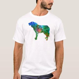 Bosnian and Herzegovinian Croatian Shepherd Dog in T-Shirt