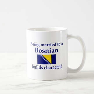 Bosnian Builds Character Coffee Mug