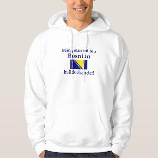 Bosnian Builds Character Hoodie