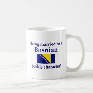 Bosnian Builds Character Classic White Coffee Mug
