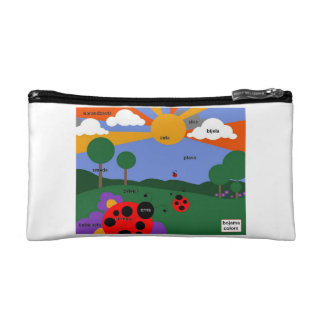 Bosnian Colors cute pencil bag