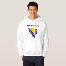 Bosnian country flag hoodie