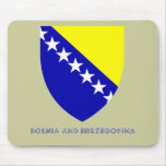 Bosnian Emblem Mouse Pad