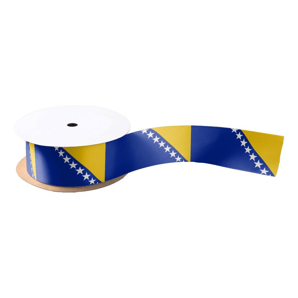 Bosnian Herzegovinian flag ribbon