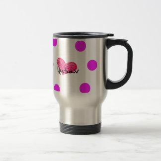 Bosnian Language of Love Design Travel Mug