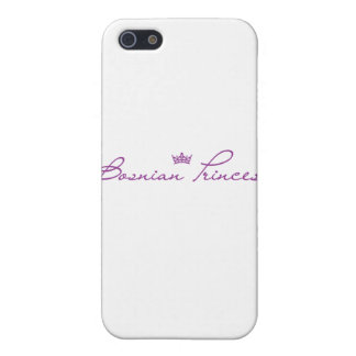 """Bosnian Princess"" products Covers For iPhone 5"