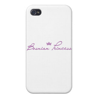 """Bosnian Princess"" products iPhone 4/4S Covers"