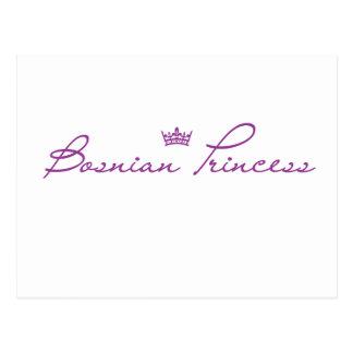 """""""Bosnian Princess"""" products Postcard"""