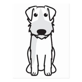 Bosnian Roughcoated Hound Dog Cartoon Postcard
