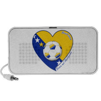 "Bosnian Soccer National Team  Fútbol BOSNIA"" 2014 Portátil Altavoz"