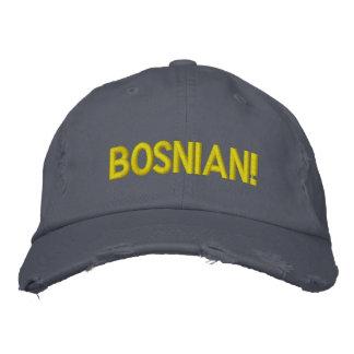 ¡Bosnio! Gorra Bordada