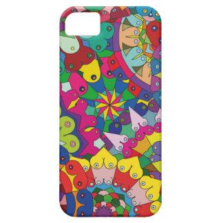 Bosom Mandala collage iPhone SE/5/5s Case