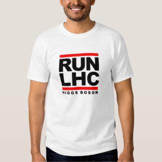 BOSÓN DE HIGGS DE RUN-LHC PLAYERAS