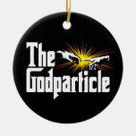 Bosón de Higgs el Godparticle Adornos De Navidad