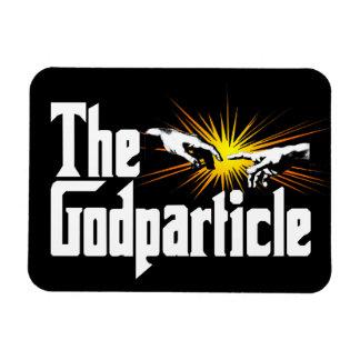 Bosón de Higgs el Godparticle - empollón divertido Iman De Vinilo