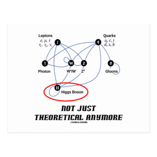 Bosón de Higgs no apenas teórico más Postal
