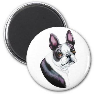 Boson Terrier Boston Style Magnet