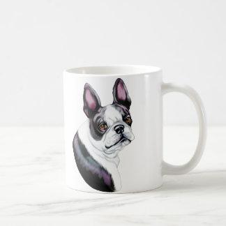 Boson Terrier Boston Style Classic White Coffee Mug