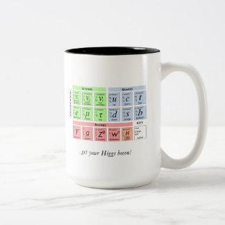 Bosón v1b de Higgs Taza De Dos Tonos