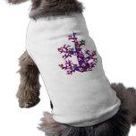 Bosque 004: Un árbol con muchos lunares Camiseta De Perro