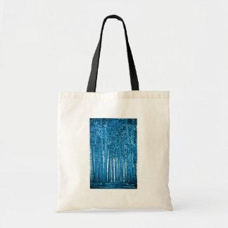 bosque azul bolsa