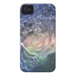 Bosque azul iPhone 4 Case-Mate carcasas