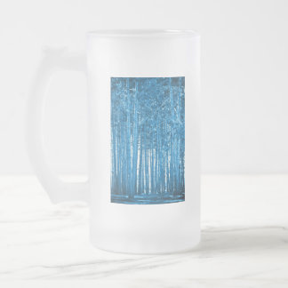 bosque azul taza