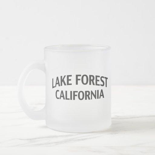 Bosque California del lago Taza De Cristal