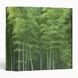 """Bosque de bambú carpeta 1 1/2"""""""