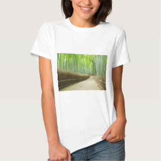 Bosque de bambú de Sagano en Kyoto Camisas